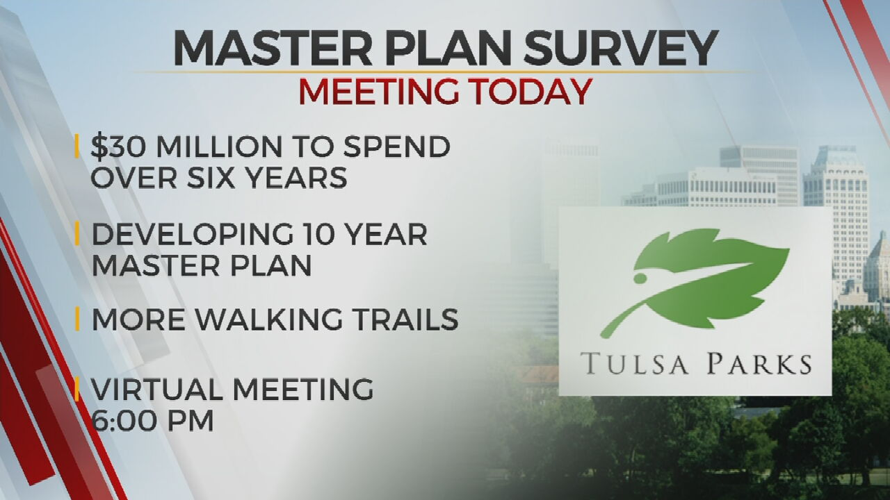 Tulsa Parks Department To Discuss Results of Master Plan Survey At Public Meeting