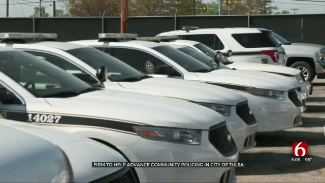 Research Firm To Help Advance Community Policing In City Of Tulsa