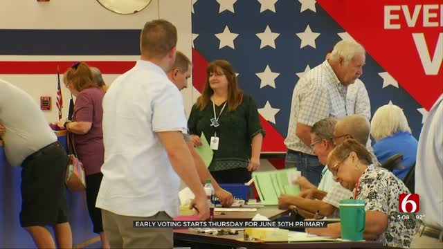 Absentee Ballot Application Deadline Tuesday, Early Voting Starts Thursday