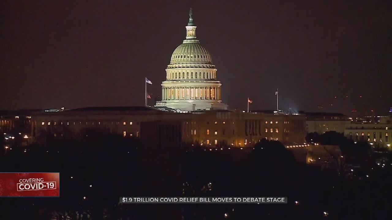 Senate Votes To Kick Off Marathon Debate Over $1.9 Trillion COVID-19 Relief Bill