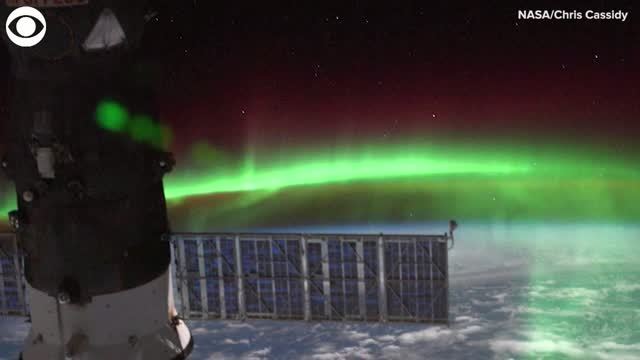 WATCH: NASA Astronaut Captures Images Of The Southern Lights