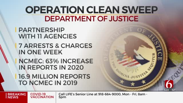 Watch: U.S. Attorney Discusses Operation Clean Sweep