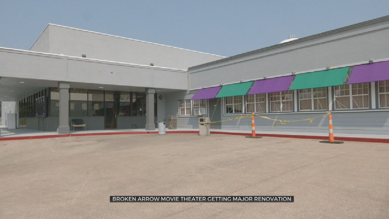 Broken Arrow Movie Theater Gets Major Renovation
