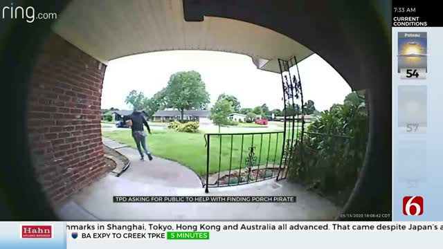 Tulsa Police Issue Warning About Porch Pirate Activity Returning