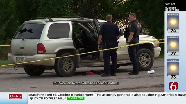 Tulsa Police Investigate Suspected Road Rage Shooting