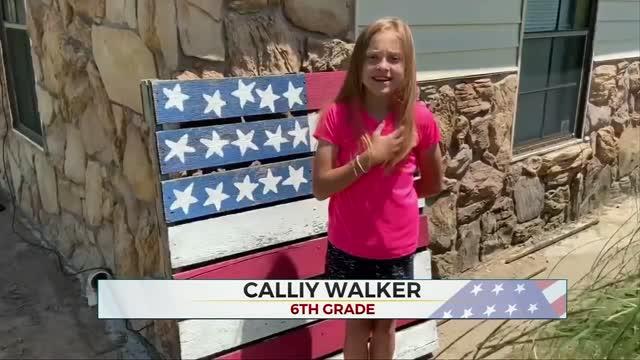 Daily Pledge: Calliy Walker