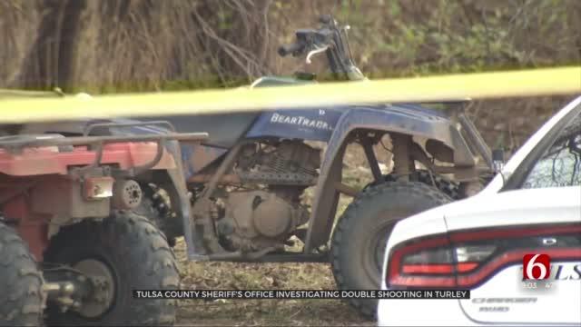 Tulsa County Deputies Investigating Turley Double Shooting, 1 Critical