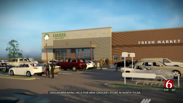 Construction To Begin Next Week On New Tulsa Grocery Store Near Pine, Peoria