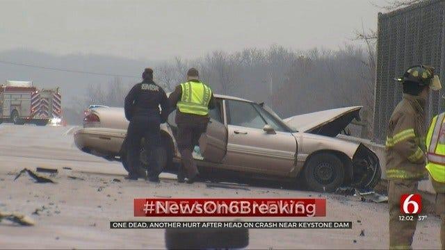 OHP: 1 Dead After Crash Near Keystone Dam