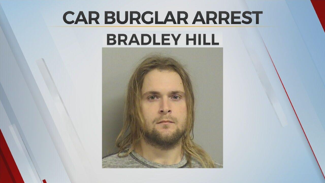 Tulsa Police: Man Accused Of Multiple Vehicle Burglaries Arrested