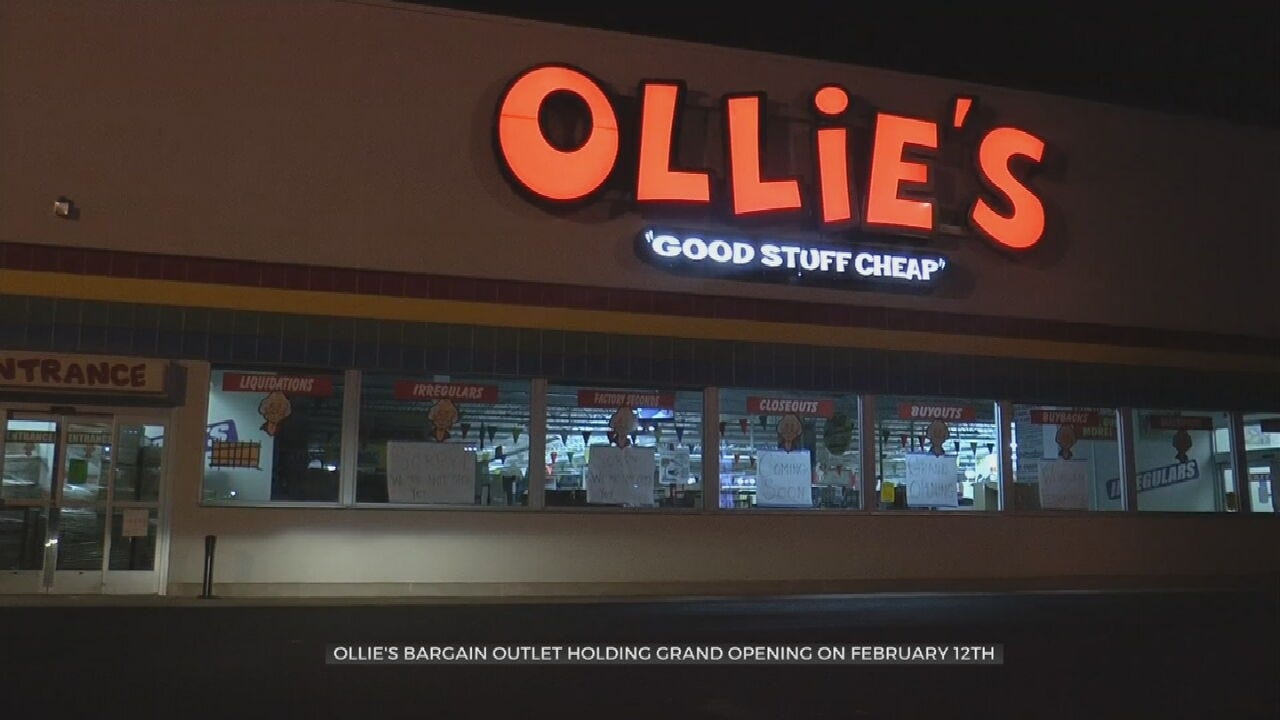 Ollie's Bargain Outlet To Open In Tulsa
