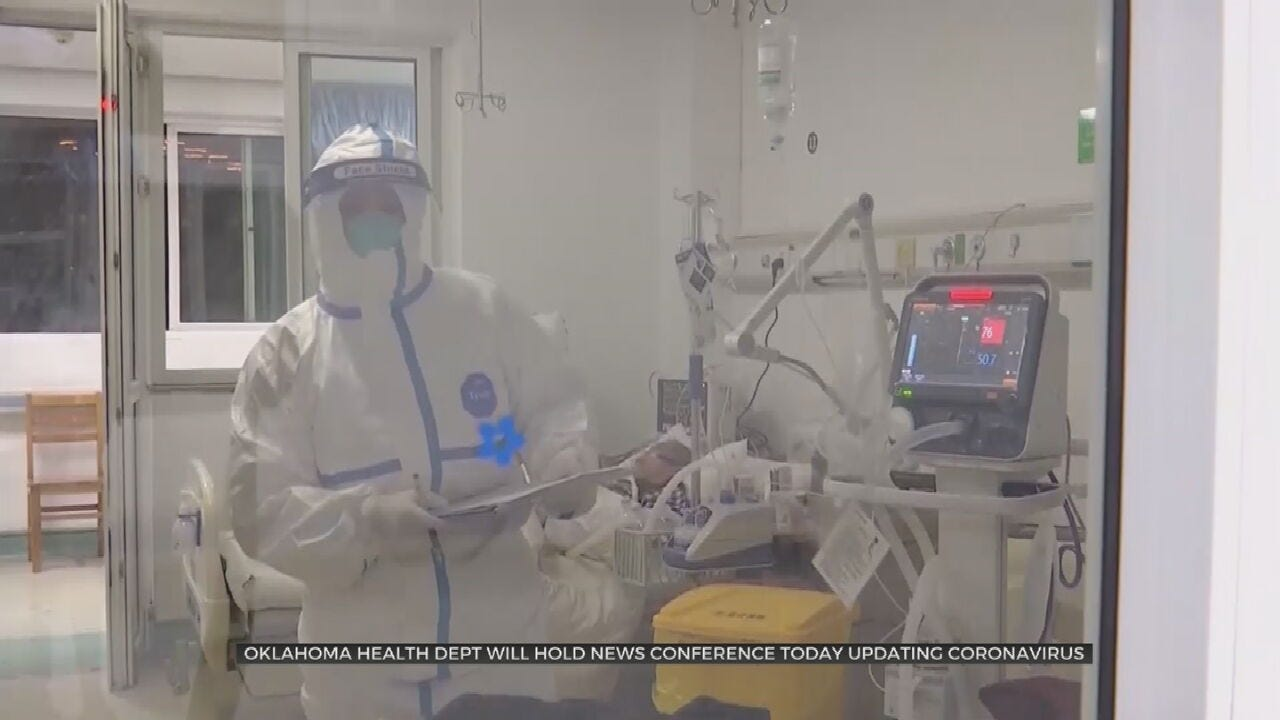 Oklahoma Department Of Health To Hold News Conference On Possible Coronavirus Cases
