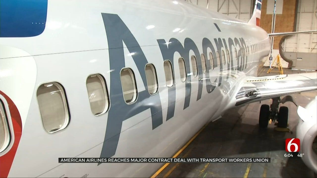 Tulsa American Airlines Workers Benefit From $4.2 Billion Union Agreement