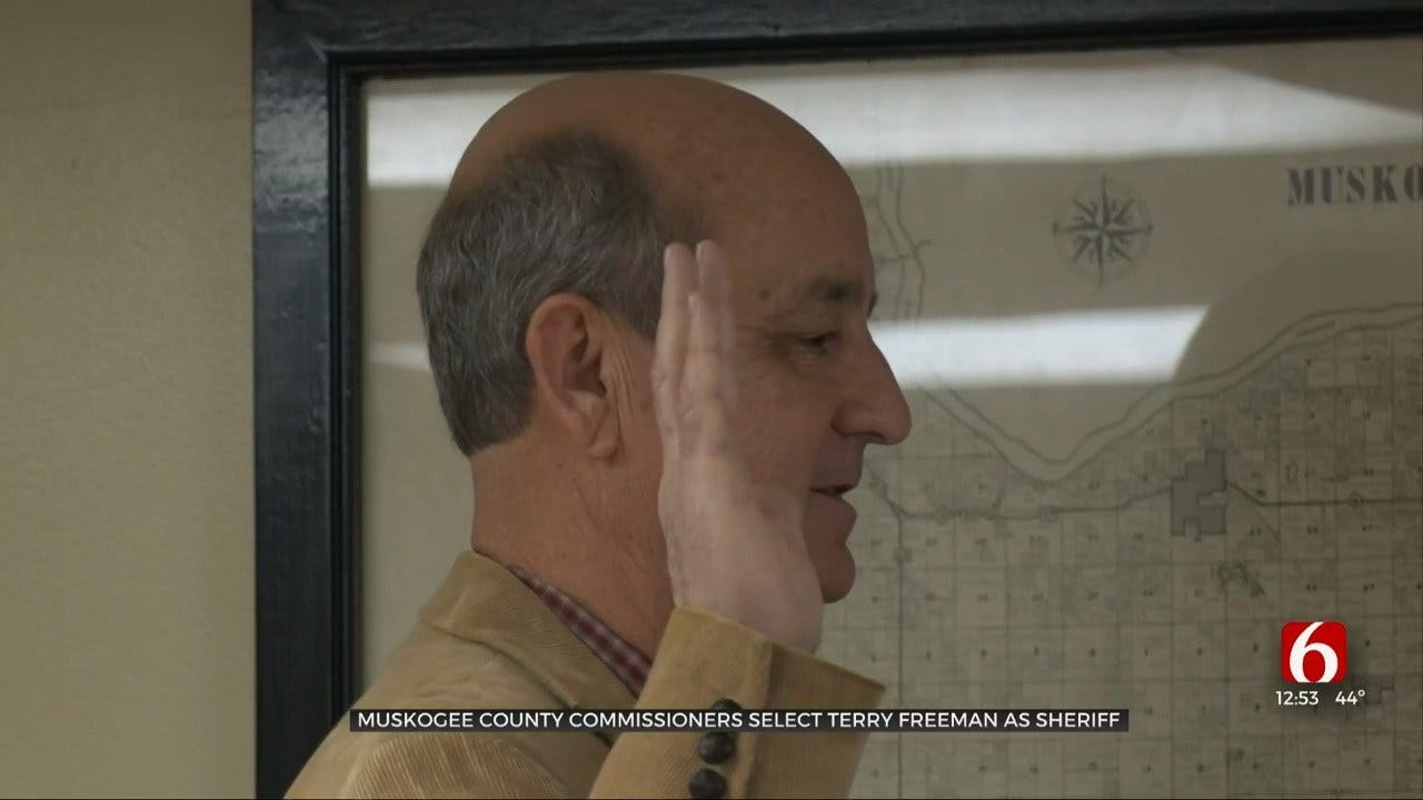 Terry Freeman Named New Muskogee County Sheriff
