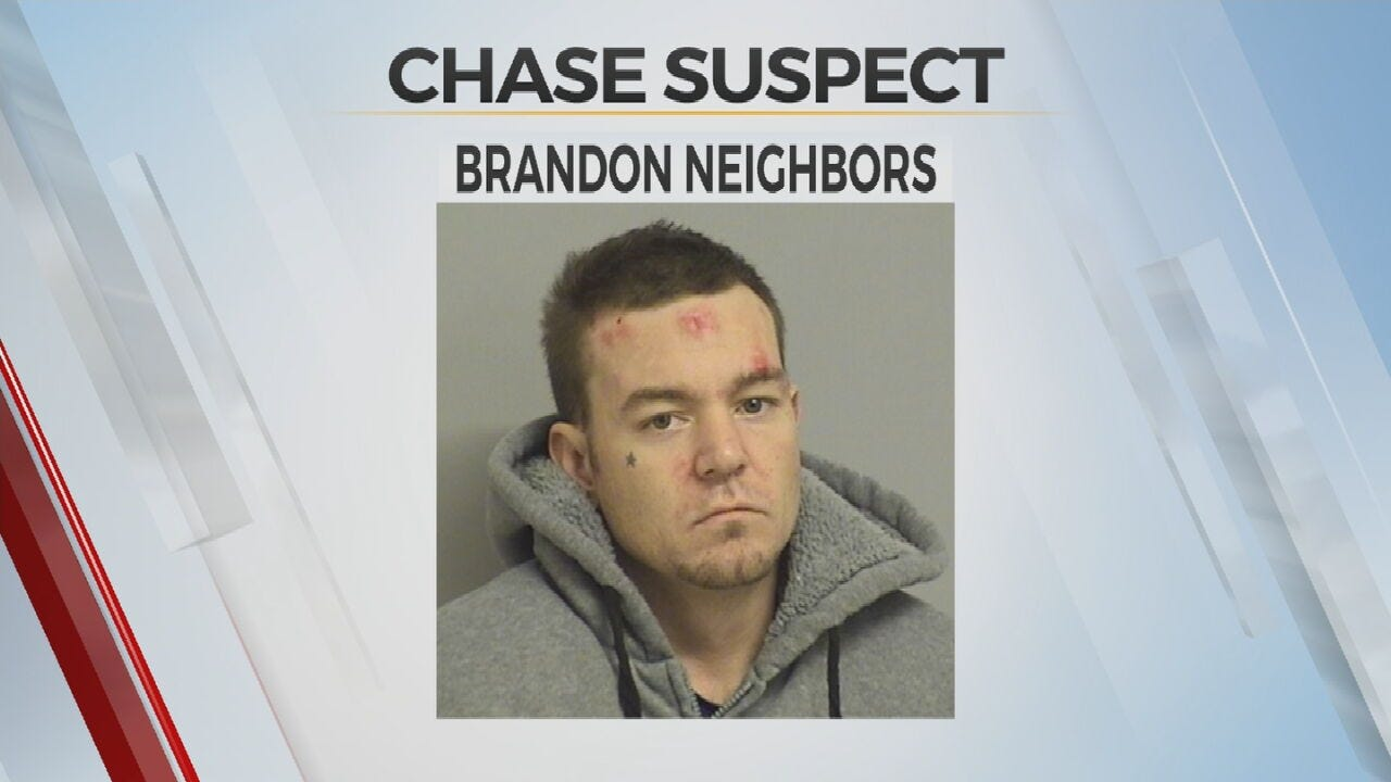 Tulsa Police: Man Arrested After Chase, Found In Neighborhood