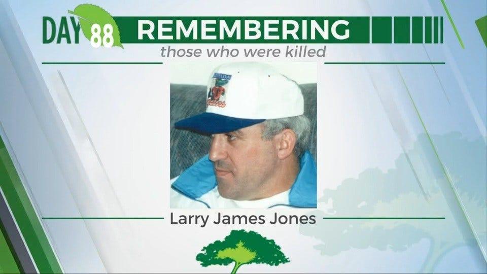 168 Day Campaign: Larry James Jones