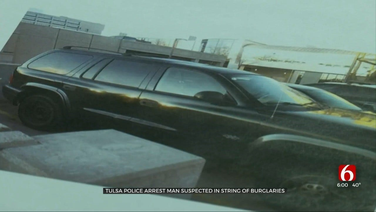 Tulsa Police: Video Helps Catch Serial Burglar