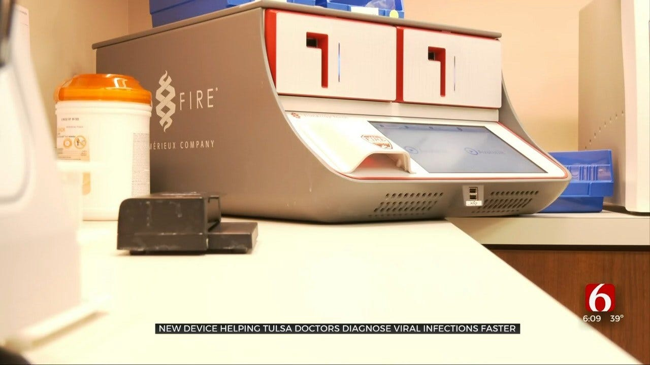 New Machine Allows Tulsa Doctors To Test For Several Viruses