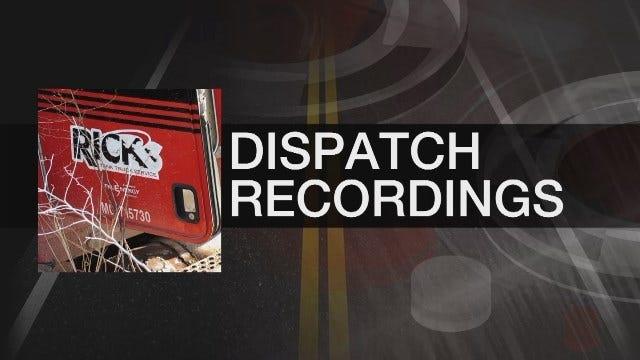 GRAPHIC LANGUAGE: Audio Recordings Between Rick's Dispatchers, Drivers