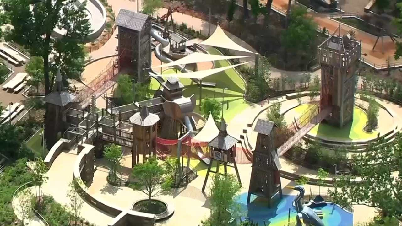 WATCH: Tulsa's Gathering Place Recognized As 1 Of World's Greatest Places To Visit