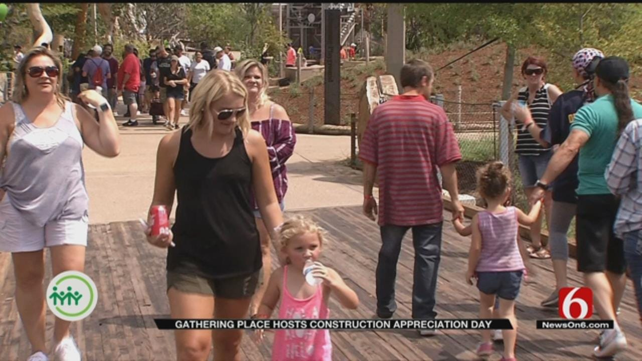 Gathering Place Holds Appreciation Day Preview For Construction Team