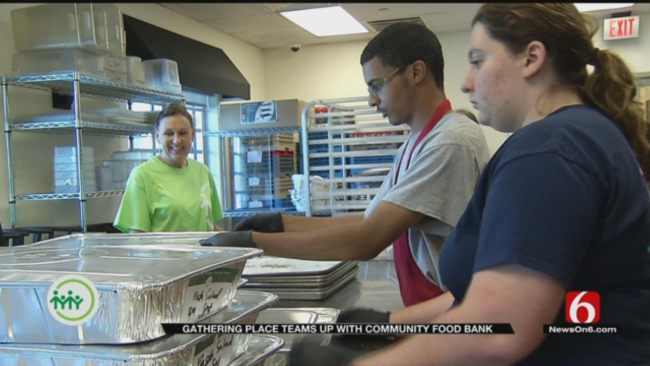 Gathering Place Teams Up With Community Food Bank of Eastern Oklahoma