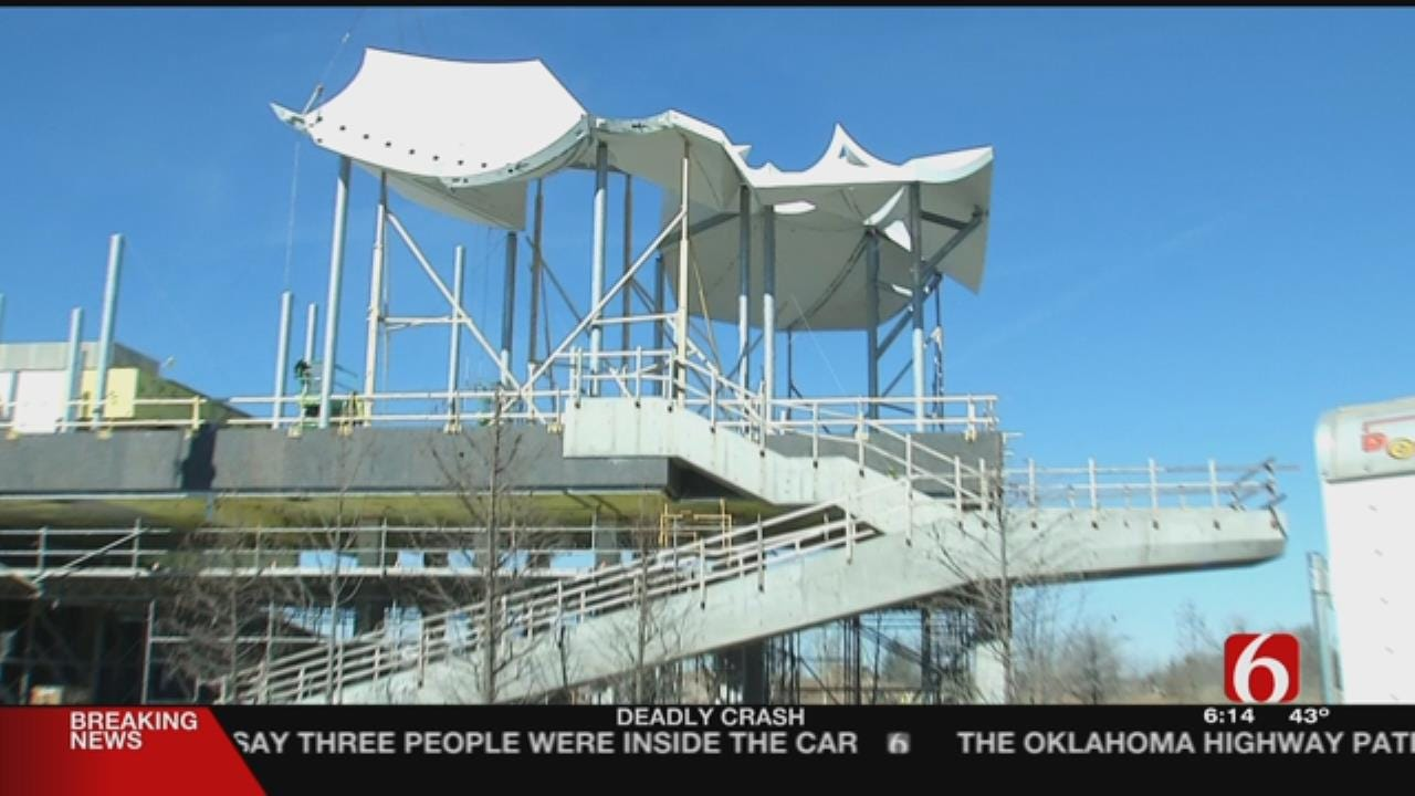 Highest Point Of Tulsa's Gather Place Going Up This Week