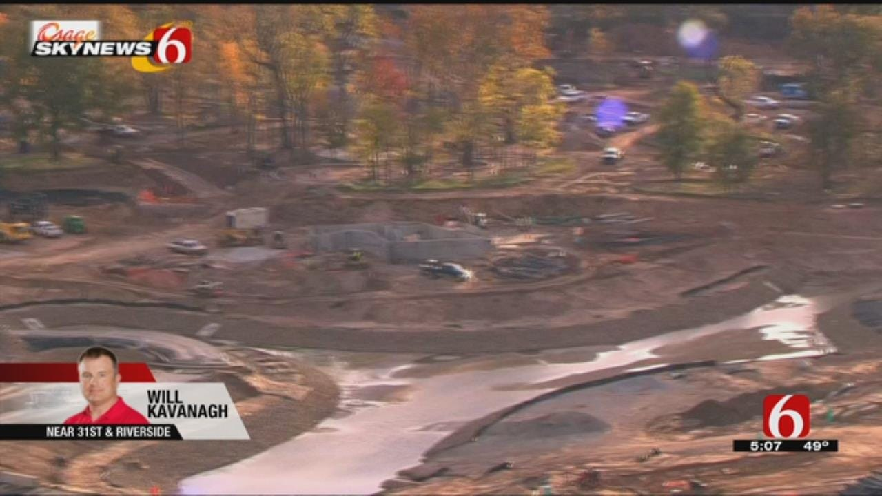 Gathering Place Progress Visible From Osage SkyNews 6 HD