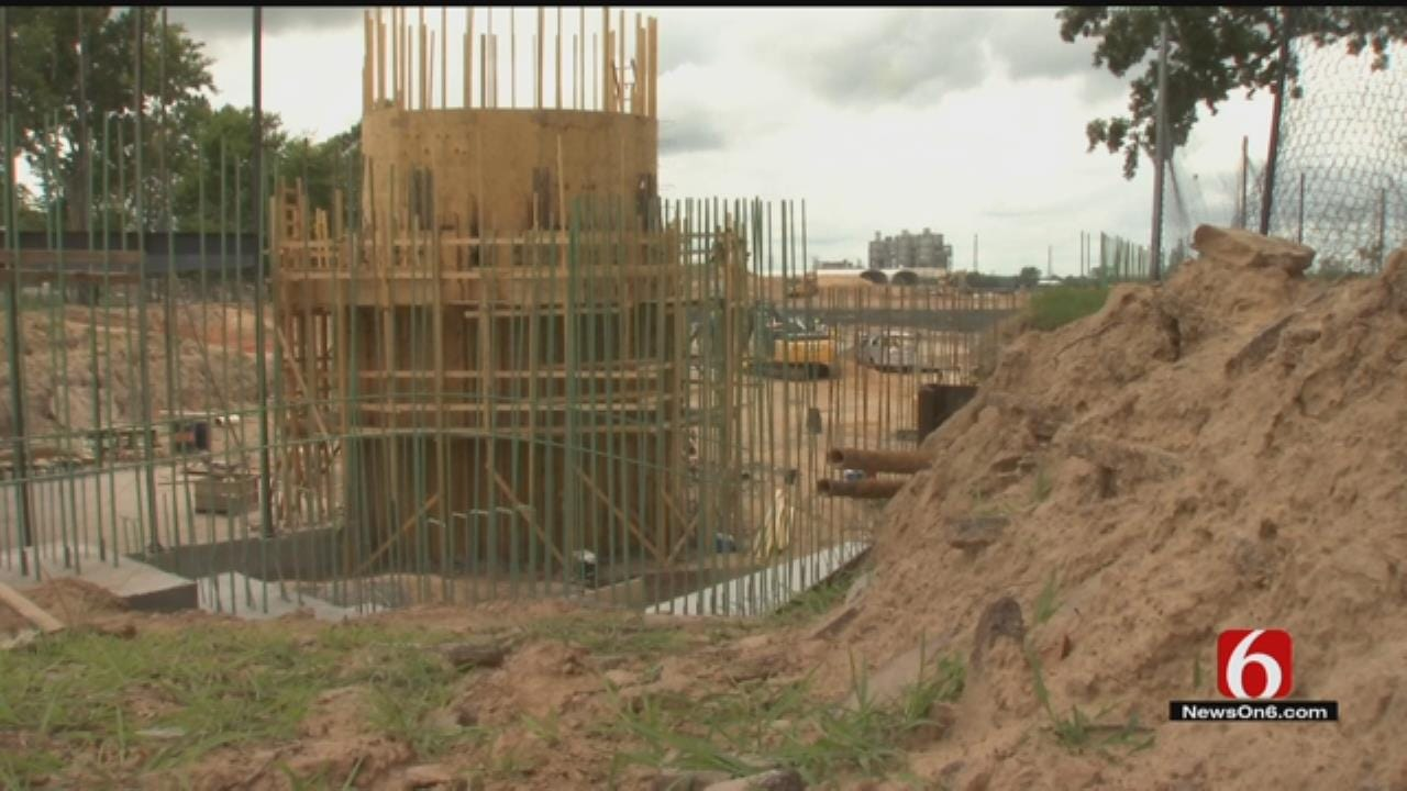 Gathering Place Construction 'Going Vertical' With Williams Lodge