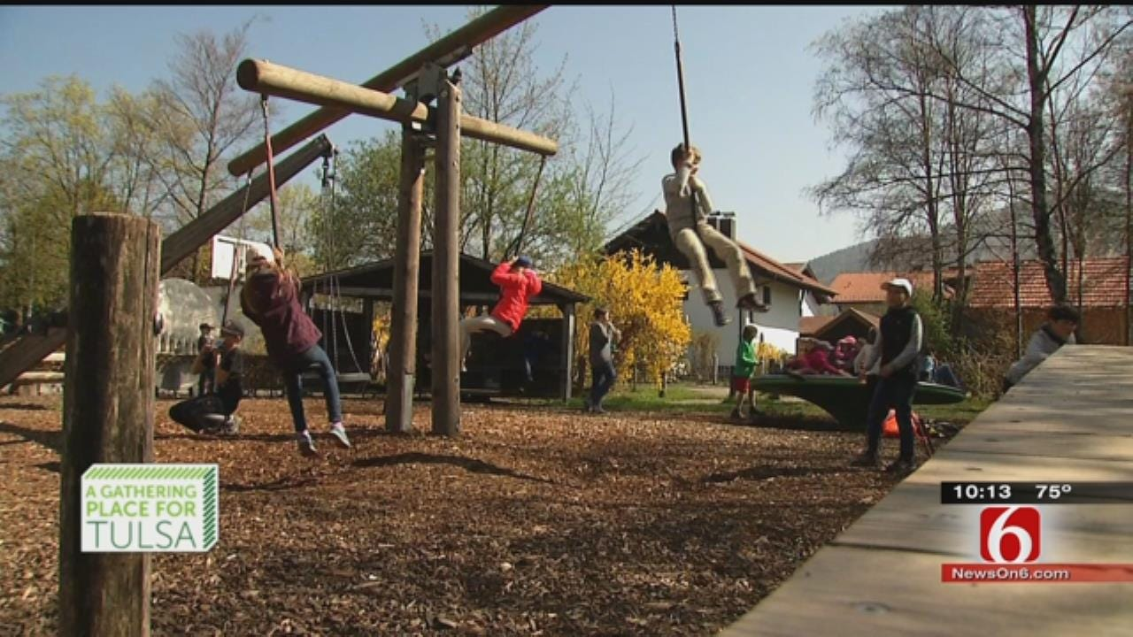 Gathering Place Designers Hope To Shake Up American Playgrounds
