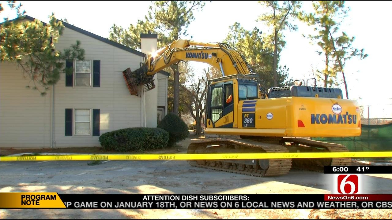 Tulsa Apartments Coming Down To Make Way For Gathering Place