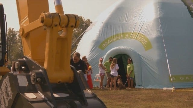 Groundbreaking Held For World-Class Tulsa Gathering Place Park