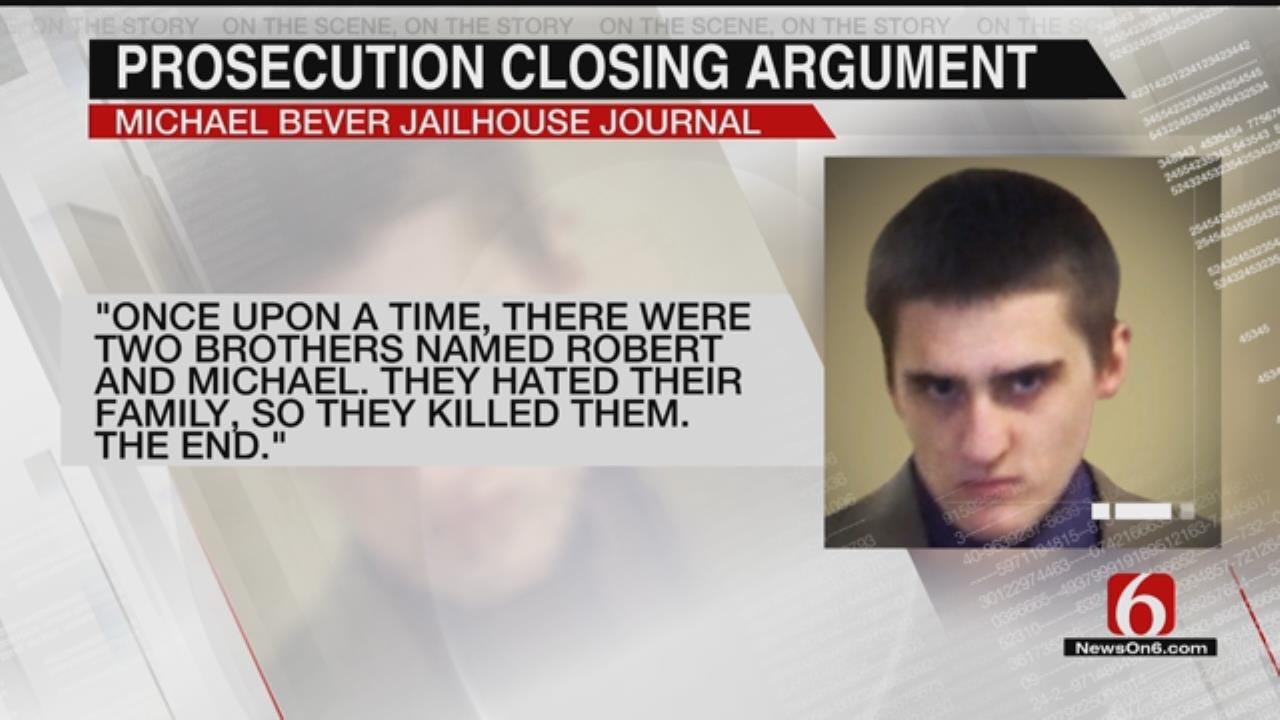 Jury Deliberating In Michael Bever Murder Trial