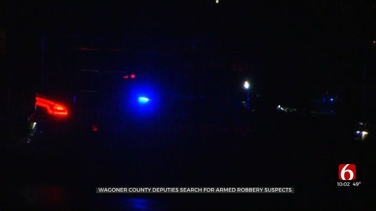 Wagoner County Sheriff's Office, Coweta Police Actively Searching For 2 Suspects