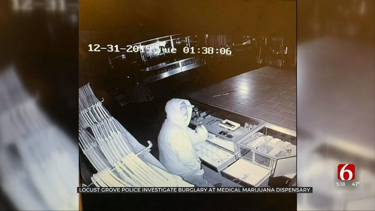 Thousands Of Dollars In Items Stolen From Locust Grove Dispensary