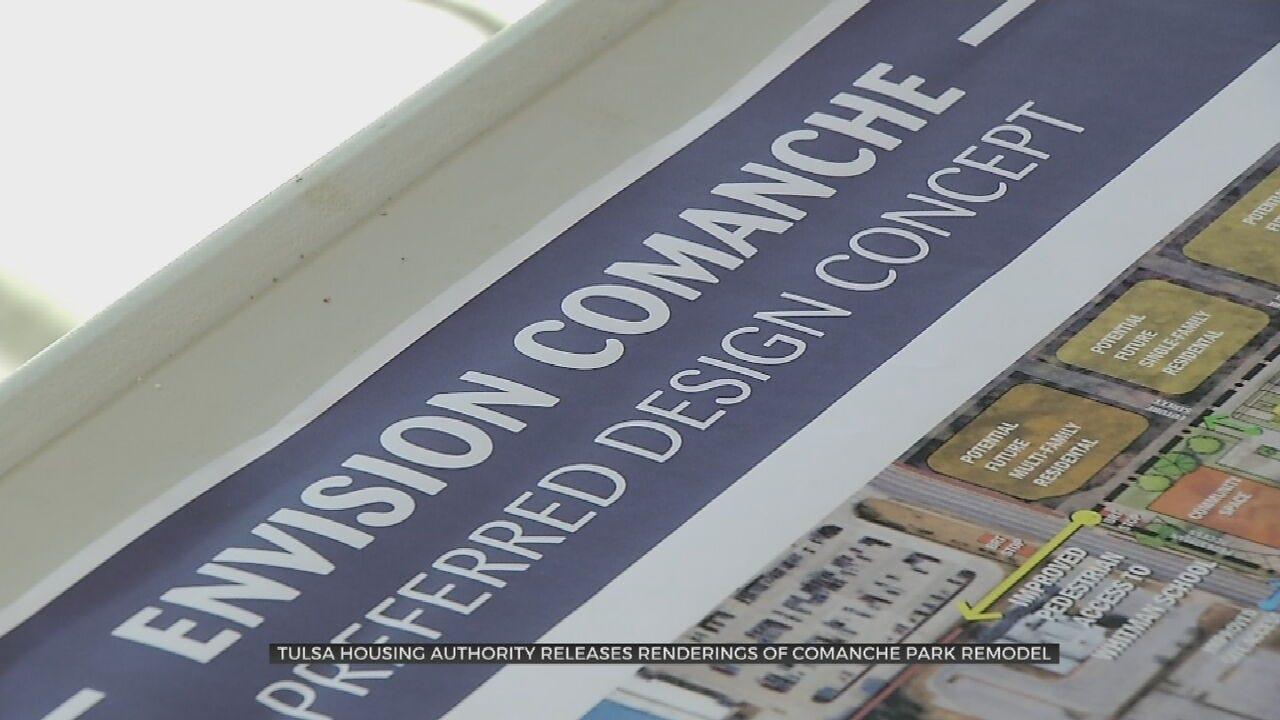 Tulsa Housing Authority Reveals Comanche Park Remodel Plan