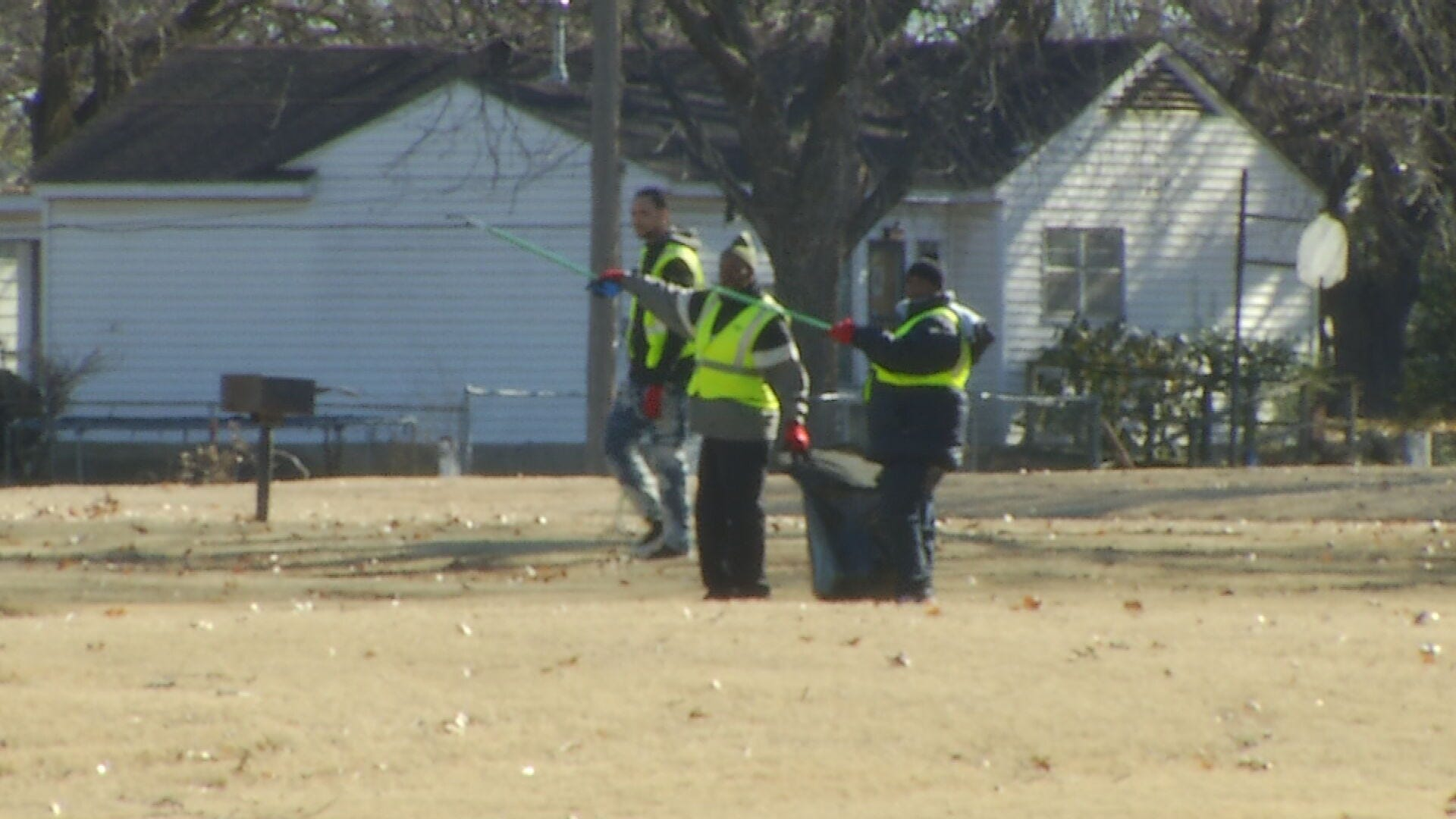 City Councilor Volunteers With 'Better Way' To Clean Tulsa Park