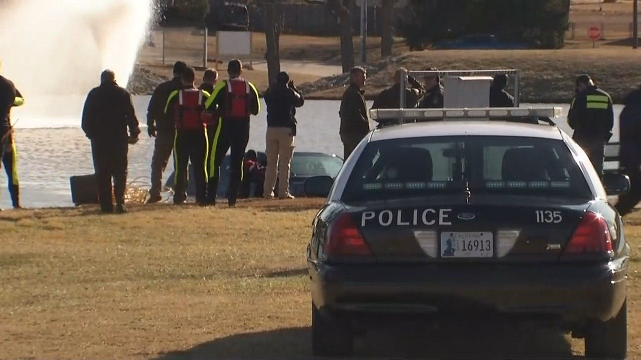 Woman Pulled From Broken Arrow Retention Pond Could Survive