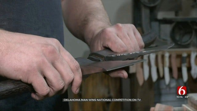Muskogee Blacksmith Wins 'Forged In Fire' History Channel Competition