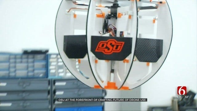 Oklahoma State University's Drone Program Is World-Class, Instructor Says