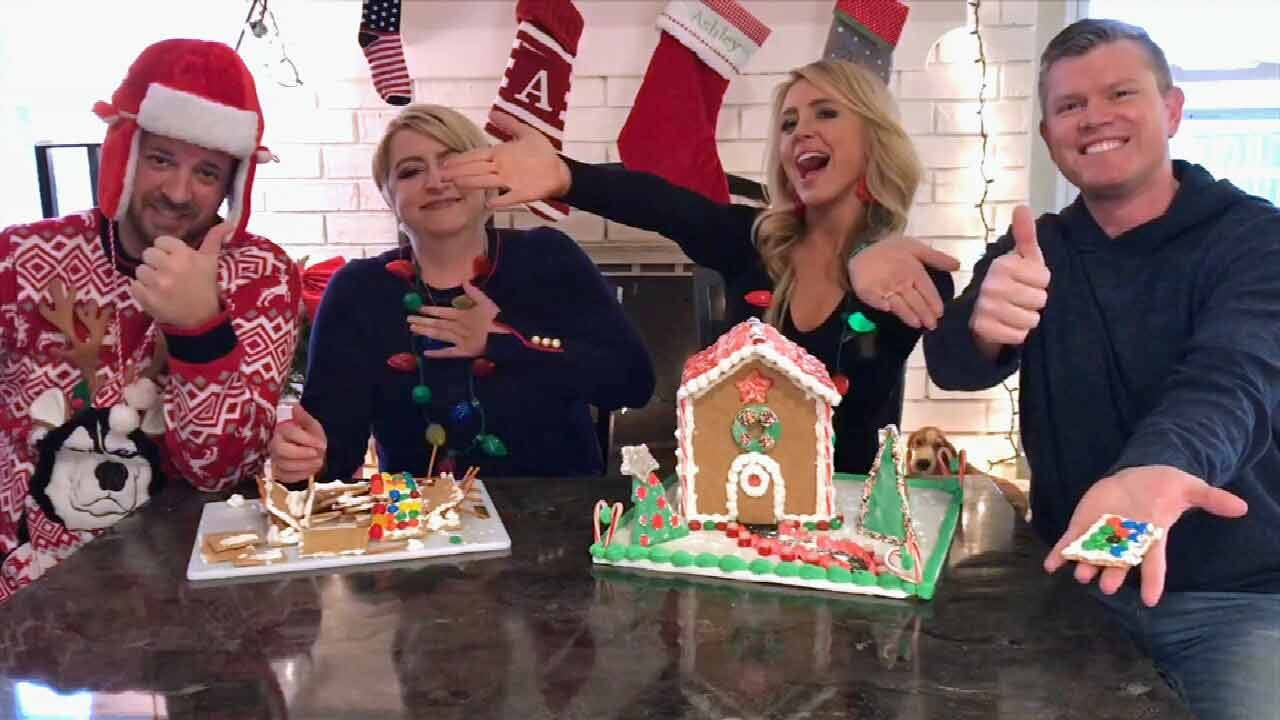 Vote For Your Favorite Gingerbread House On News On 6 At 4