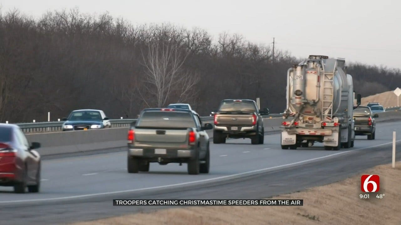 Oklahoma Highway Patrol Will Track Holiday Speeders From Plane