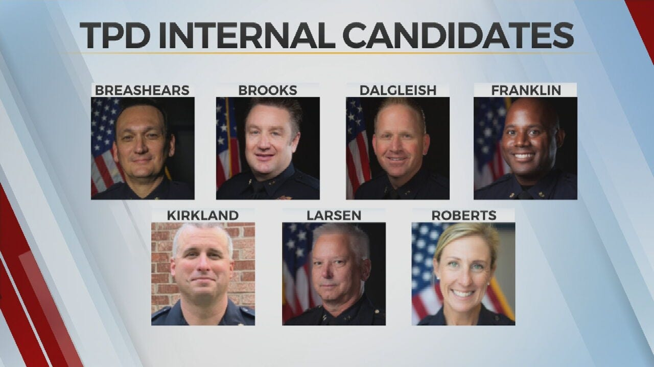 TPD Continues Search For New Police Chief, To Hold Town Hall Meetings
