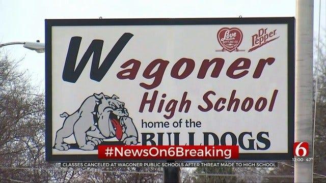 Wagoner Cancels School After Social Media Shooting Threat