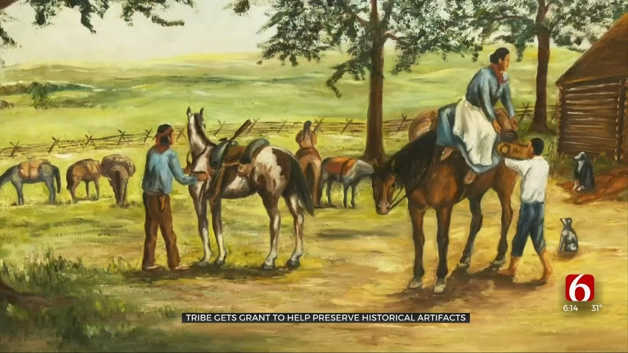 Delaware Tribe Gets Grant To Preserve Historical Artifacts