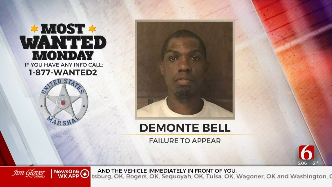 U.S. Marshals Most Wanted May Be In Tulsa, Muskogee