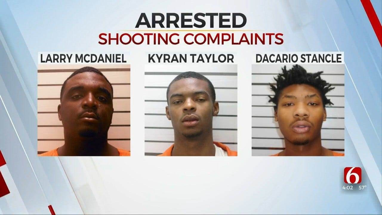 Muskogee Police: 3 In Custody After Shooting