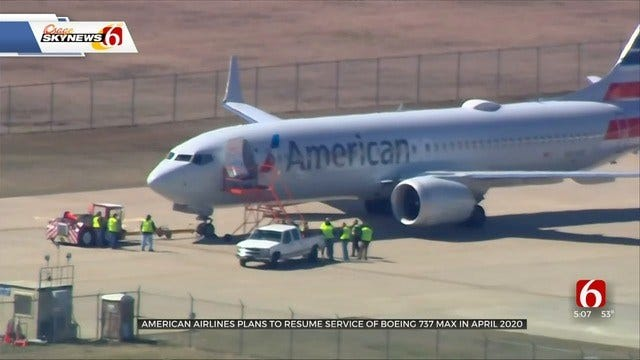 American Airlines Boeing 737 MAX Aircraft Expected To Fly Again In April