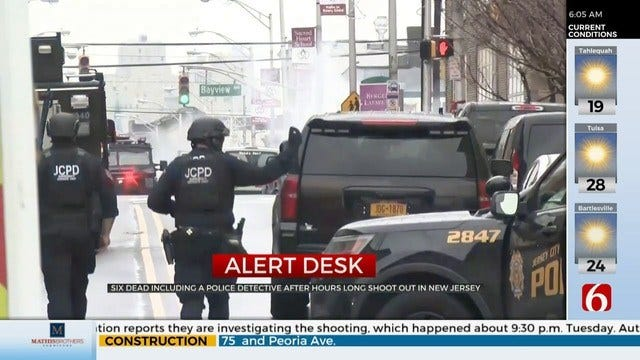 6 Dead, Including Officer, After New Jersey Shooting