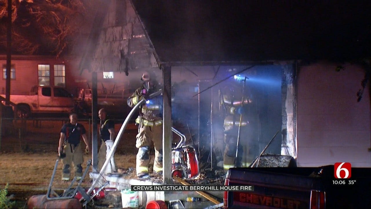 Tulsa Co. Deputies Investigate House Fire They Say May Have Been Set Intentionally